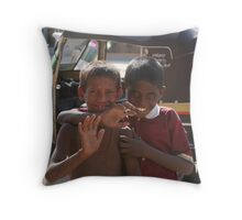 street children 2 Throw Pillow