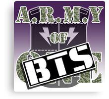 ARMY of BTS Canvas Print