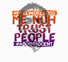 NUH TRUST PEOPLE #FREEWORLBOSS (ORANGE-PURP) Long Sleeve T-Shirt