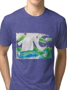 Big Fish Little Fish Tri-blend T-Shirt
