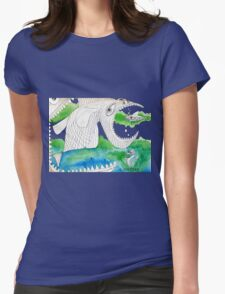 Big Fish Little Fish Womens Fitted T-Shirt