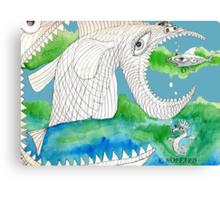 Big Fish Little Fish Canvas Print