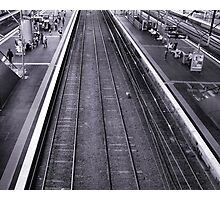 Rail Lines Photographic Print