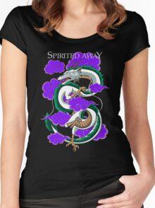 Haku-Spirited Away Women's Fitted Scoop T-Shirt