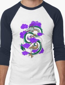 Haku-Spirited Away Men's Baseball ¾ T-Shirt