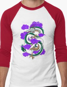 Haku-Spirited Away Men's Baseball ¾ T-Shirt