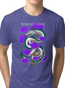 Haku-Spirited Away Tri-blend T-Shirt