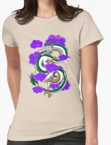 Haku-Spirited Away Womens Fitted T-Shirt