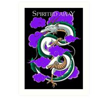 Haku-Spirited Away Art Print