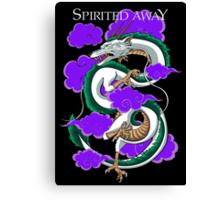 Haku-Spirited Away Canvas Print