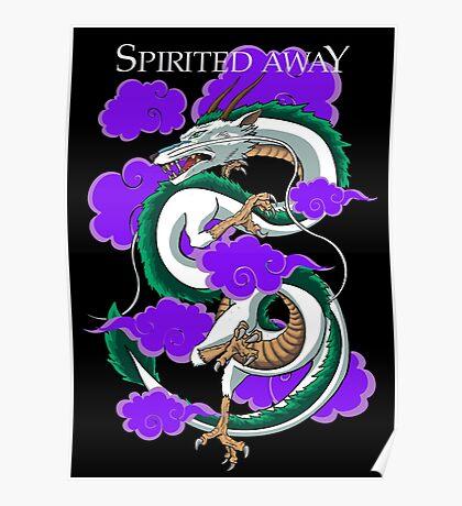 Haku-Spirited Away Poster