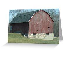 Farmstead Barn Greeting Card