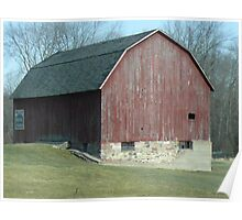 Farmstead Barn Poster