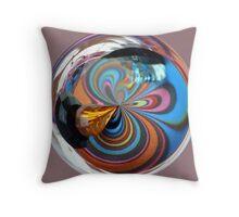 Multi-Colour Beads  Throw Pillow