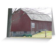 Heritage Farmstead Greeting Card