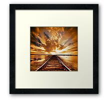 My way Framed Print
