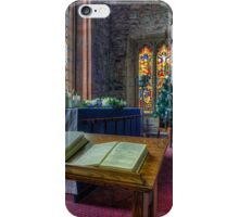Christmas Service iPhone Case/Skin
