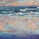 Rainbow Beach sunset reflections by Terri Maddock