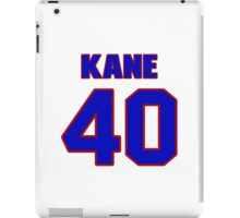 National football player Rick Kane jersey 40 iPad Case/Skin