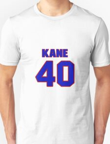 National football player Rick Kane jersey 40 T-Shirt