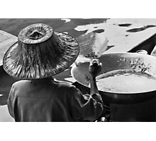 Wok Woman Photographic Print