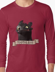 Toothless Smile Long Sleeve T-Shirt