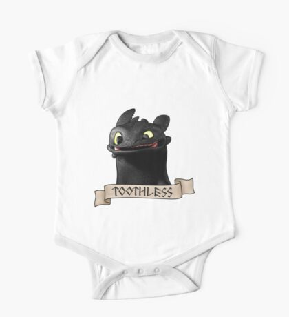 Toothless Smile One Piece - Short Sleeve