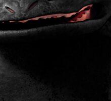 Toothless Smile Sticker
