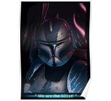 We are the 501 st !  Poster