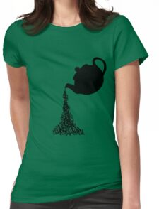 Time for Tea. Womens Fitted T-Shirt