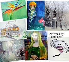 Artwork Grouping by R.Ross by Reta Ross
