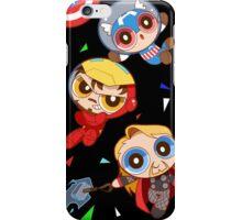 cap x tony x thor black version iPhone Case/Skin