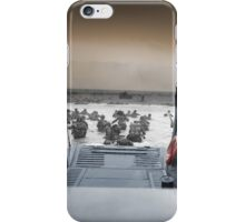 Into The Jaws Of Death iPhone Case/Skin