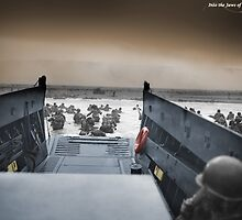 Into The Jaws Of Death by restorephotos