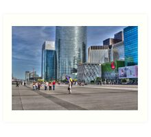 La Defense, Paris, France Art Print