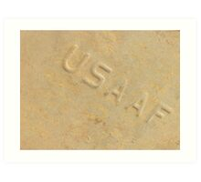 USAAF... What does it mean? Art Print