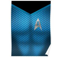 Star Trek Series - Scientist Suit - Spock Poster