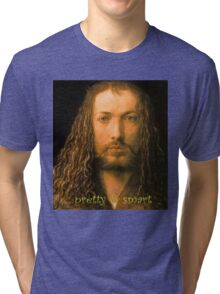 PRETTY & SMART  Albrecht Durer - Self Portrait (1471-1528) Tri-blend T-Shirt