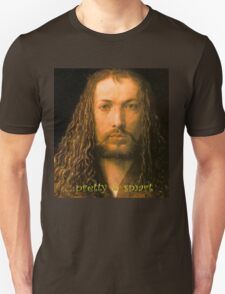 PRETTY & SMART  Albrecht Durer - Self Portrait (1471-1528) T-Shirt