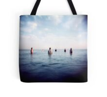 the guys out in sea Tote Bag