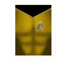 Star Trek Series - Captain Suit - Kirk Art Print
