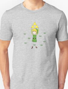Triforce Link/Adventure Time Parody Mashup T-Shirt