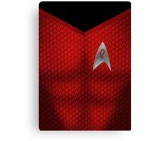Star Trek Series - Engineer Suit Canvas Print