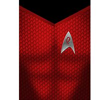 Star Trek Series - Engineer Suit Photographic Print