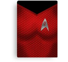 Star Trek Series - Uhura Suit Canvas Print