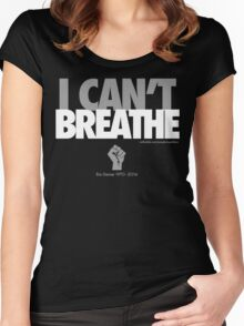 FOR ERIC GARNER Women's Fitted Scoop T-Shirt