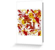 Fear the Spear! Greeting Card