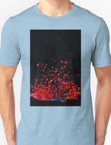 Paint Sculpture - High speed photography of splashes of paint  T-Shirt