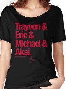 Eric & Trayvon & Akai & Michael Women's Relaxed Fit T-Shirt
