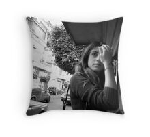 Beirut Born and Bread Throw Pillow